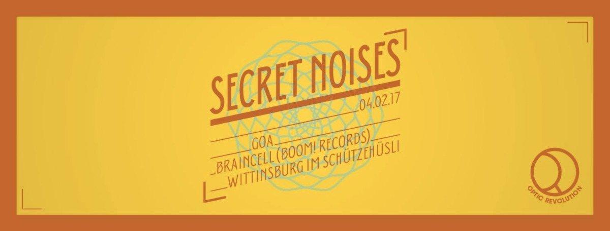 Secret Noises 4 Feb '17, 20:00
