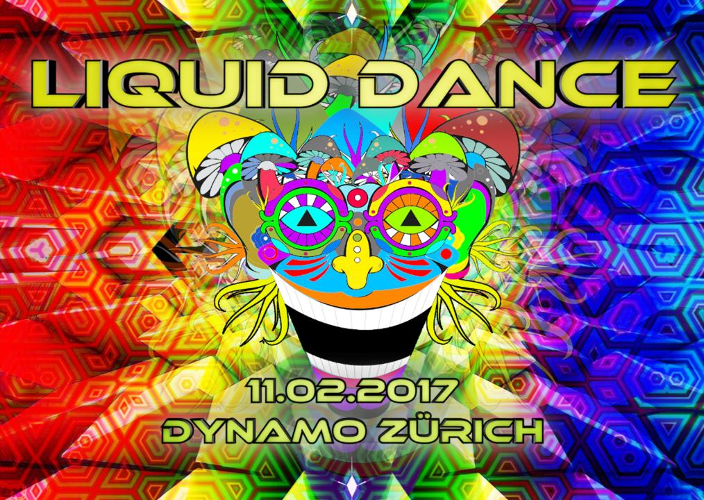 Party flyer: ॐ Liquid Dance ॐ 11 Feb '17, 21:00
