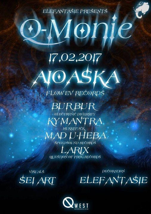 ..☫ Q-Monie with Aioaska ☫.. 17 Feb '17, 22:00