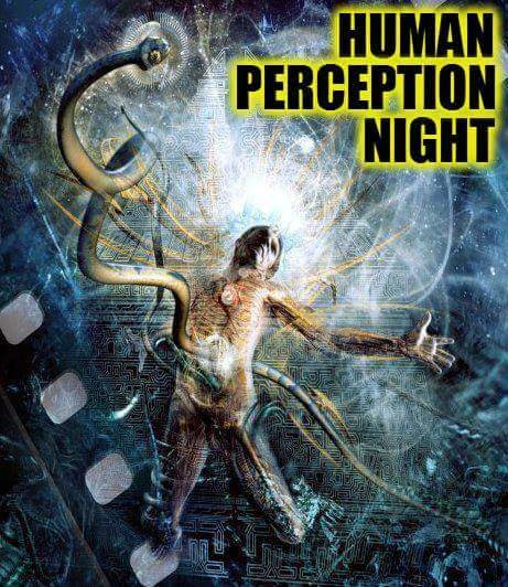 Party flyer: Human Perception Night 25 Feb '17, 22:00