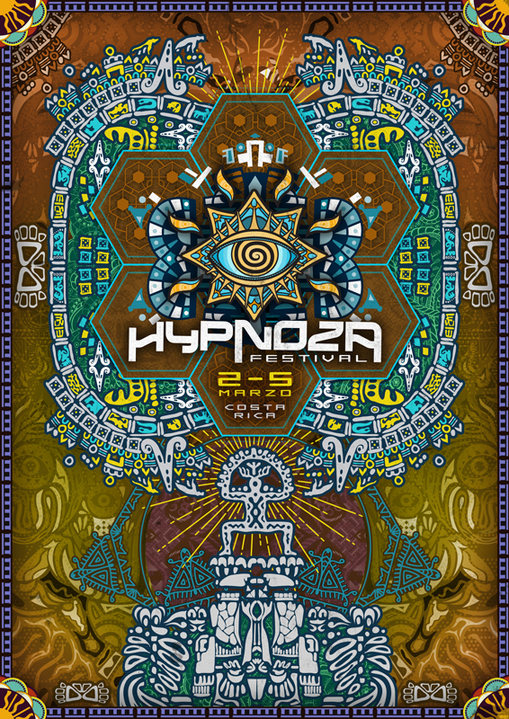 Party flyer: Hypnoza Festival-Dance for Global Peace,,,! 2 Mar '17, 10:00