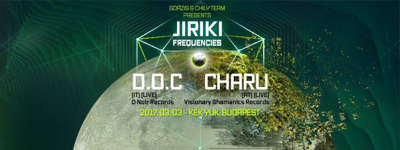 Goázis presents: Jiriki Frequencies Vol. 4 3 Mar '17, 22:00