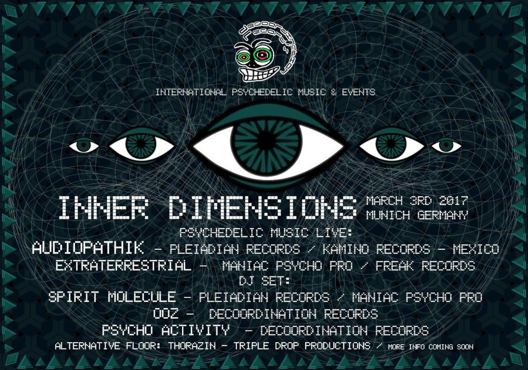 INNER VIEW // Audiopathik & Extraterrestrial Live // Funktion-1 3 Mar '17, 22:00