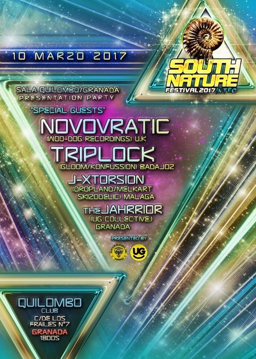 Teaser Party SOUTH NATURE Festival (GRANADA.) 10 Mar '17, 22:00