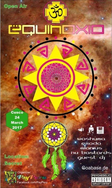 Party flyer: Equinoxio! (Private) 24 Mar '17, 12:00