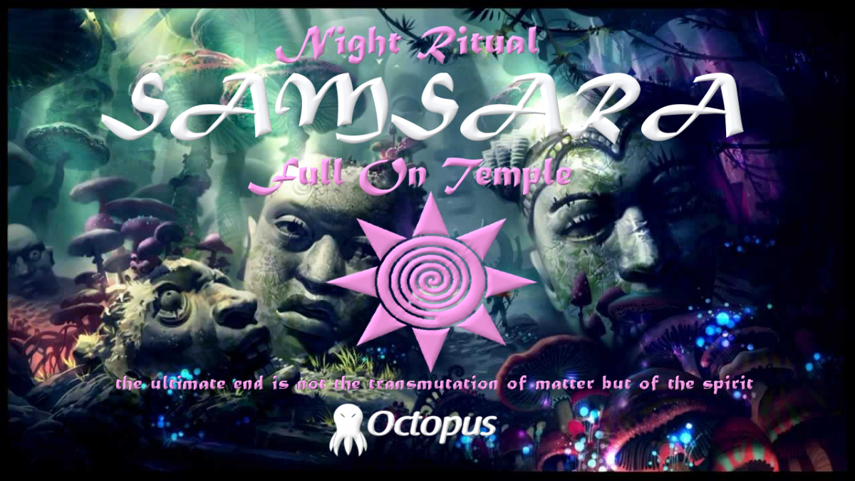 Party flyer: Samsara ۞ Night Ritual 25 Mar '17, 19:00