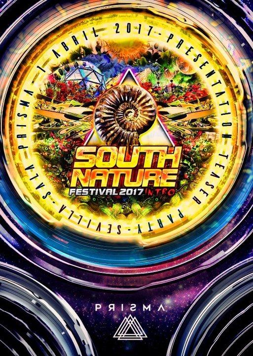 "Teaser Party SOUTH NATURE & Oficial nuevo Albun ""Inmersion""By Prozac (SEVILLA.) 1 Apr '17, 22:00"
