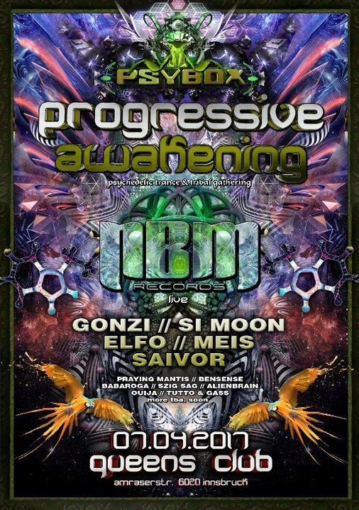 Psybox - Progressive Awakening - NBM Rec. Label Night 7 Apr '17, 22:00