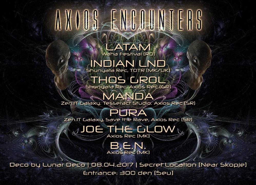 Axios Encounters 8 Apr '17, 21:00