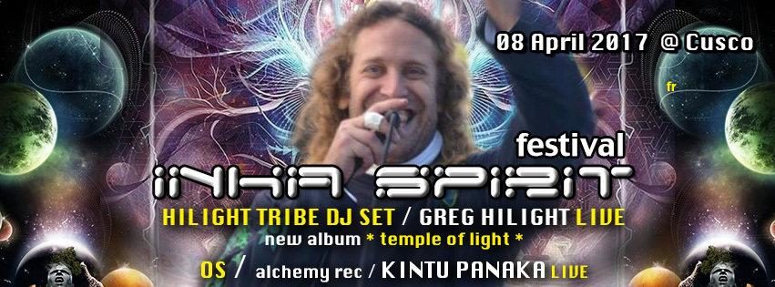 Party flyer: INKA SPIRIT FESTIVAL 2017 8 Apr '17, 22:00