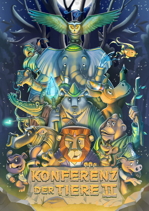 Party flyer: ◢ Konferenz der Tiere II 8 Apr '17, 23:00
