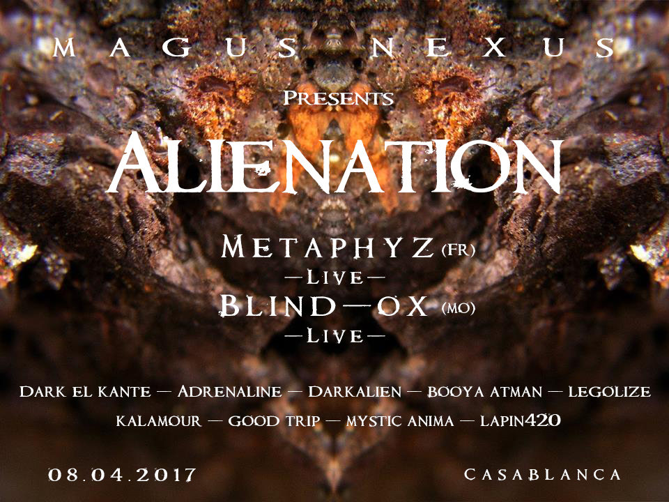 MAGUS NEXUS #1 – Alienation Party 8 Apr '17, 20:00