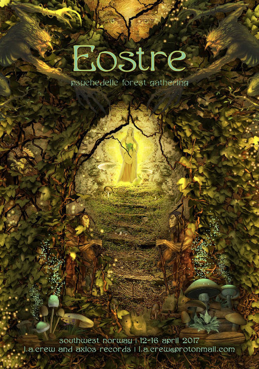 EOSTRE - Psychedelic Forest Gathering 12 Apr '17, 18:00