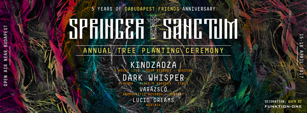 Springer Sanctum - Annual Tree Planting Ceremony 15 Apr '17, 12:00