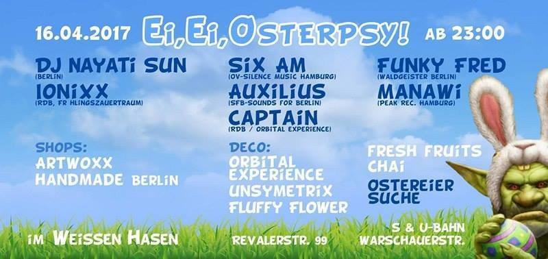 Ei Ei Osterpsy ॐ 16 Apr '17, 23:00