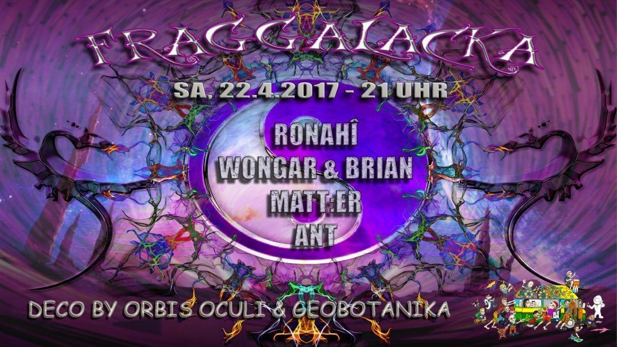 Party flyer: Fraggalacka 22 Apr '17, 21:00