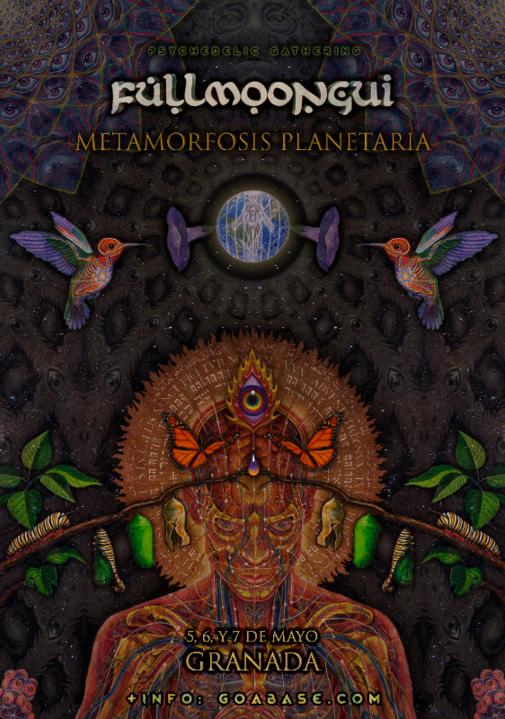 Fullmoongui - Metamorfosis Planetaria 5 May '17, 22:00