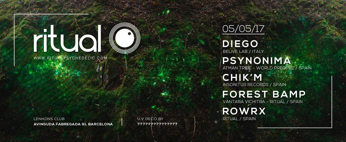 Ritual @ Lennons Club, Barcelona 5 May '17, 23:30