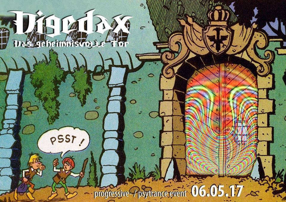 Party flyer: Digedax - das geheimnisvolle Tor 6 May '17, 23:30
