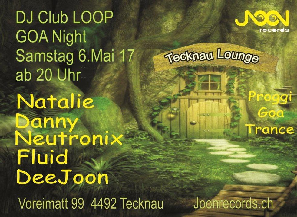 Party flyer: DJ CLUB LOOP 6 May '17, 20:00