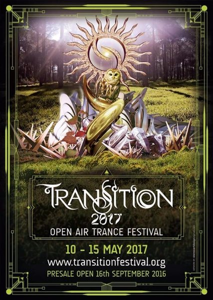 Party flyer: TRANSITION 2017 ::: Open Air Trance Festival 10 May '17, 22:00