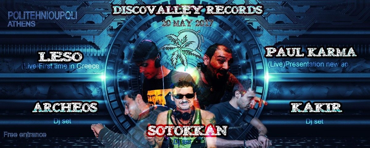 Discovalley Records Label party 20 May '17, 22:00