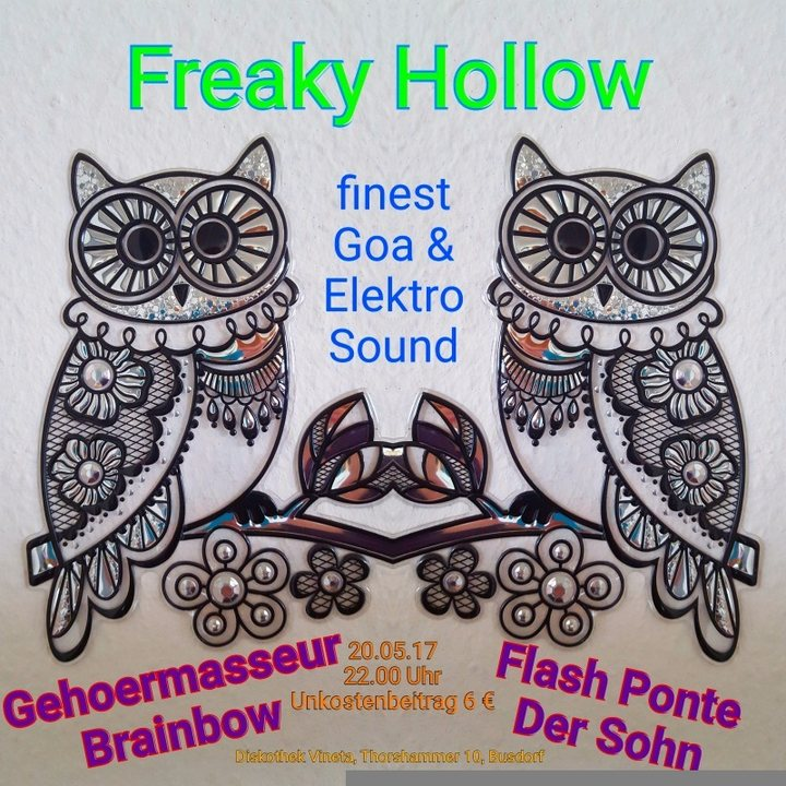 Freaky Hollow 20 May '17, 22:00