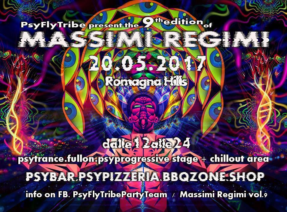 Massimi Regimi Vol 9 20 May '17, 11:00