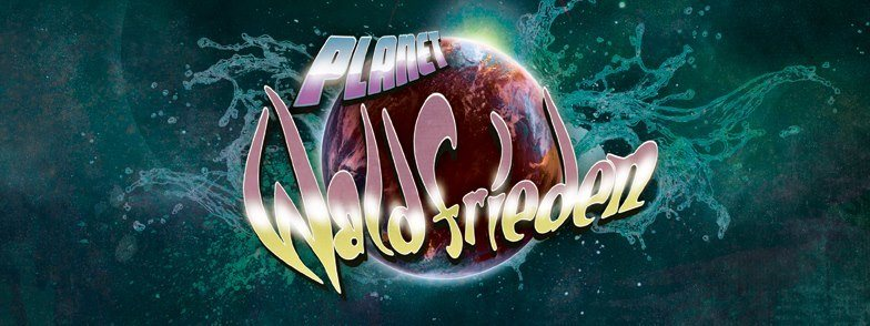 Party flyer: Planet Waldfrieden 20 May '17, 21:30