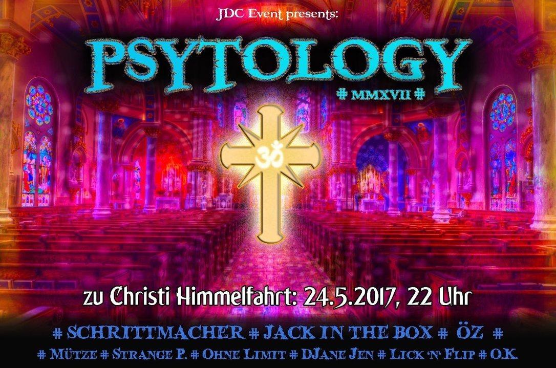 Party flyer: † Psytology 2017 † 24 May '17, 22:00