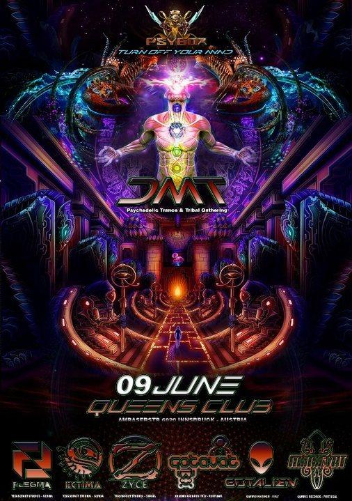 PSYBOX - *** DMT with Zyce - Gotavat - Flegma - Gotalien - Ectima - Mimic Vat 9 Jun '17, 22:00