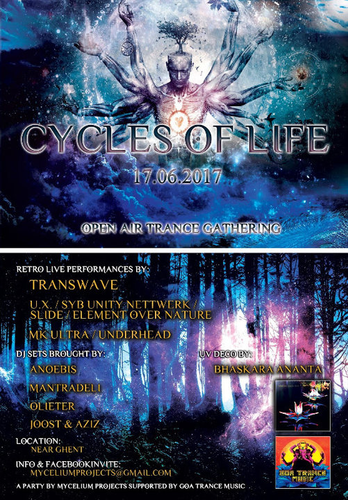 Cycles Of Life - Open Air 17 Jun '17, 20:00