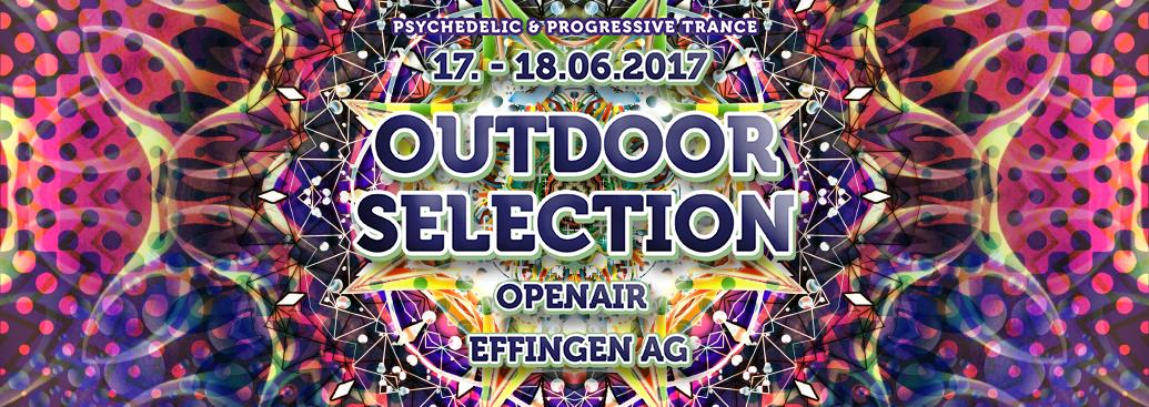 Party flyer: Outdoor Selection Open Air 2017 17 Jun '17, 15:00