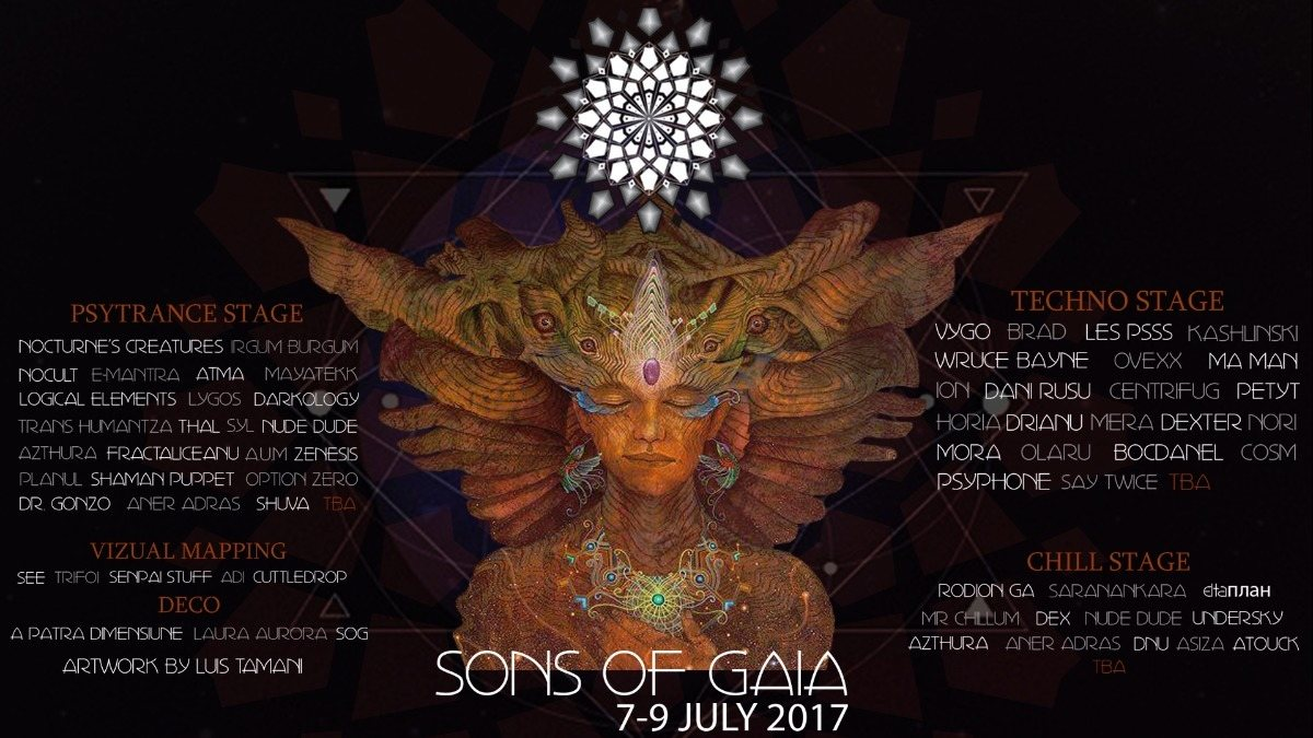 Sons Of Gaia Chapter IV [TIME LORDS] [2017] 7 Jul '17, 20:00