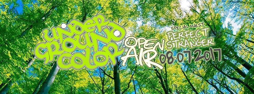 Underground Color Open Air w// Perfect Stranger [Iboga Rec.] 8 Jul '17, 20:00
