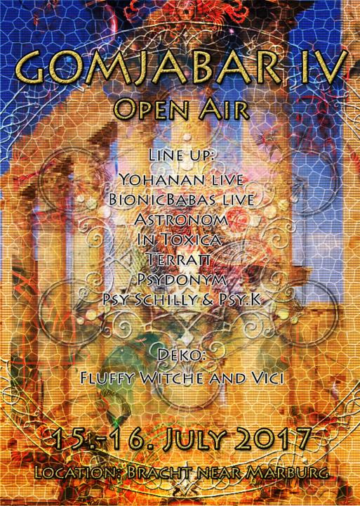Party flyer: Gomjabar IV Open Air 15 Jul '17, 22:00