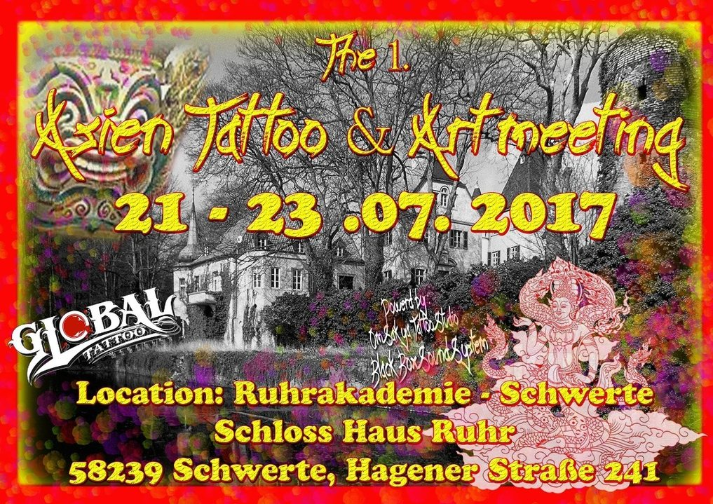 The 1. Asien Tattoo & Art meeting in Germany 21 Jul '17, 15:00