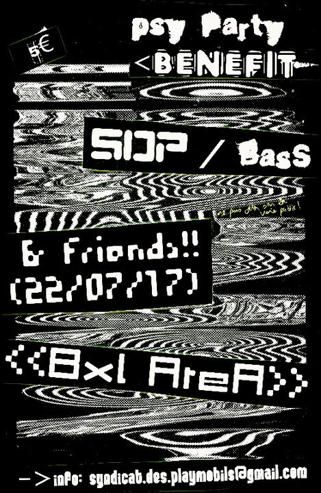 SdP / BaSs -- PsY ParTy BenEfiT** 22 Jul '17, 22:00