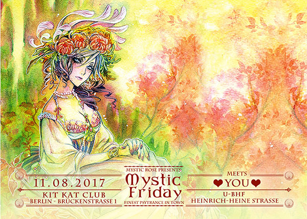 The Mystic Friday meets...YOU 11 Aug '17, 23:00