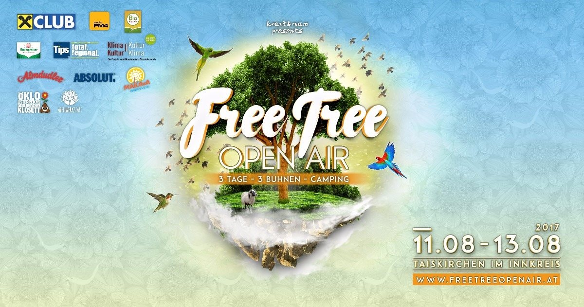 Party flyer: FREE TREE OPEN AIR - PSY CIRCUS 12 Aug '17, 20:00