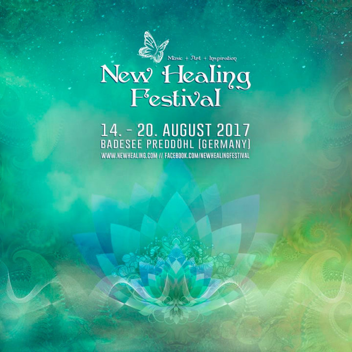 Party flyer: New Healing Festival 2017 14 Aug '17, 18:00