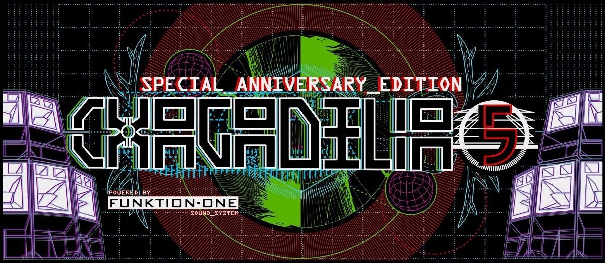 Party flyer: CHAGADELIA - 5 year anniversary edition - [powered by FUNKTION ONE!] 18 Aug '17, 22:00