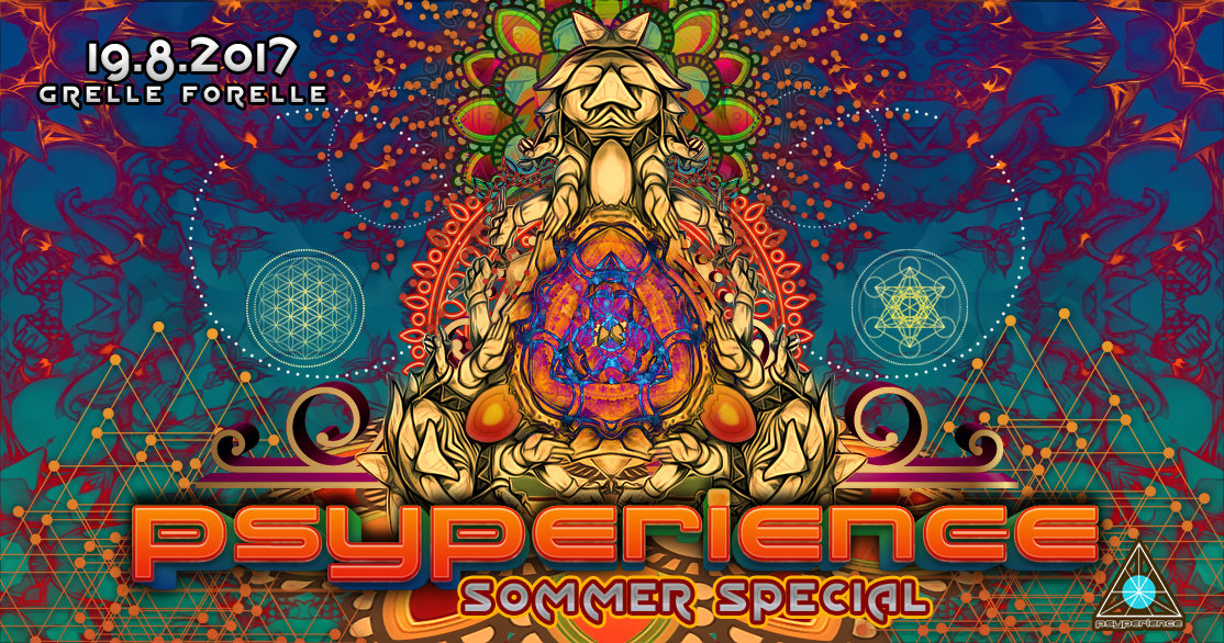 Psyperience - Sommer Special mit Technical Hitch & Will O Wisp 19 Aug '17, 23:00