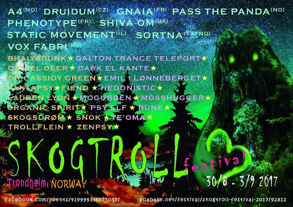 Skogtroll Festival 2017 30 Aug '17, 18:00