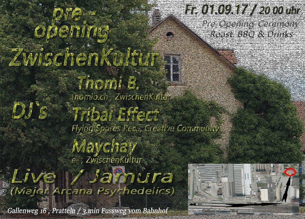 Pre-Opening - ZwischenKultur 1 Sep '17, 20:00