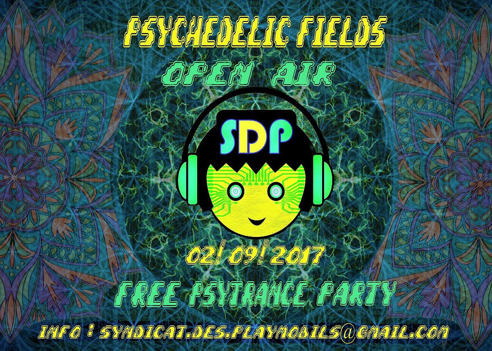 Party flyer: Psychedelic Fields - SdP FreE oPeN aiR ParTy 2 Sep '17, 18:00