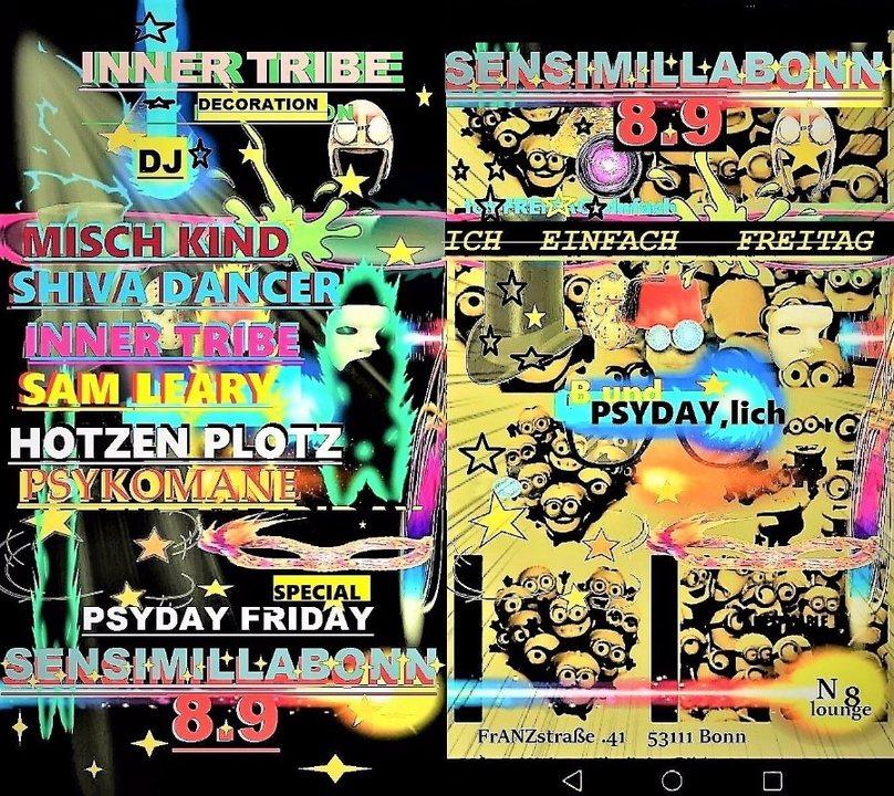 ★ Psyday Friday Special ★ 8 Sep '17, 22:00