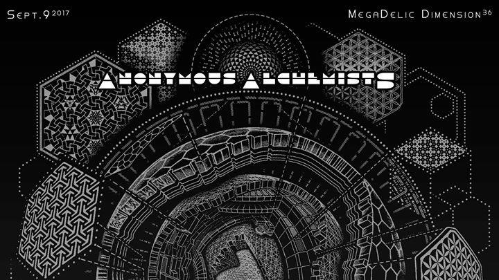 Party flyer: MegaDelic Dimension36° 9 Sep '17, 22:00