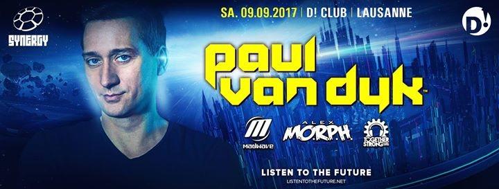 Paul van Dyk at D! Club, Lausanne 9 Sep '17, 22:00