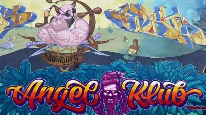 Party flyer: Progg Galerie In Gedenken an The Rocketlines 14 Sep '17, 22:00